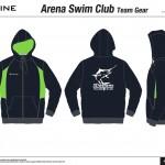 Arena Swim Club - Hoodie Previews-3
