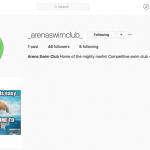 Instagram - Arena Swim Club