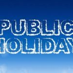 Public Holiday - Monday 4th June 2018