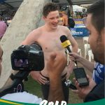 Congratulations Ben Popham - Gold - 100 Freestyle